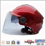 二重バイザーのオートバイまたはスクーター(HF314)のための半分の表面ヘルメット