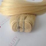ブラジルのRemyの人間の毛髪のよこ糸