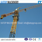 Guindaste de torre 5t máximo hidráulico do comprimento Tc5010 de patíbulo do tipo de Katop para a maquinaria de construção