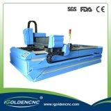 Machine de découpage bon marché de laser de fibre de commande numérique par ordinateur