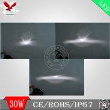 """새로운 30W 7 """" Offroad Vechiles (HCW-L301098)를 위한 LED 헤드라이트"""