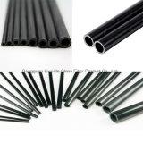 Altos tubo/poste/tubo de la fibra del carbón de la rigidez con el peso ligero