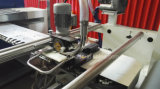 Processo de acabamento da máquina de têxteis