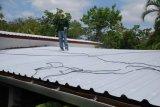 Пожаробезопасный материал листа крыши UPVC пластичный