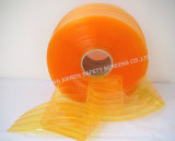 Normal Clear Ribbed PVC Strips