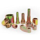 Соединение штуцера шланга нержавеющей стали поставкы фабрики ISO 7241 гидровлическое резиновый быстро
