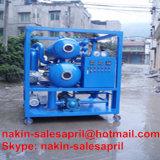 Rigenerazione dell'olio del trasformatore di vuoto della Doppio-Fase, olio che ricicla macchina