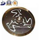 Колесо мухы шкива ковки чугуна ISO подгонянное OEM подвергая механической обработке