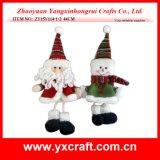 Linternas colgantes de la tela de la decoración de la Navidad (ZY15Y114-1-2)
