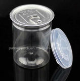la nourriture en plastique de l'animal familier 380ml peut avec la couverture en aluminium d'Eoe (PPC-FSZD-007)