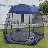 Das im Freienhexagon knallen oben kampierendes Zelt