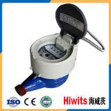 Горячее пластичное электронное чтение счетчика воды 15mm-20mm дистанционное GPRS