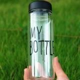 Mijn Fles Fles van het Citroensap van het Fruit van de Sport van 500 Ml de Duidelijke Plastic
