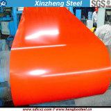 (0.14mm-0.8mm) PPGIの鋼材は電流を通された鋼鉄コイルをPrepainted