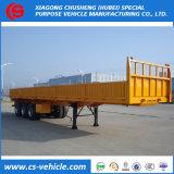 40FT container 3 de Semi Aanhangwagen van de Zijgevel van de As