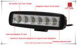Luz del coche del LED 6 de la luz larga del trabajo de la dimensión de una variable LED de la pulgada 18W para la luz campo a través de la luz del coche LED de SUV y de conducción del LED