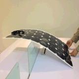 el panel solar flexible Customerized y alto Effiency para los barcos, Yacths, coches, omnibuses, Motorhome de la mono célula de 100W Sunpower