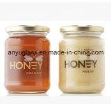 記憶の食糧100ml、250ml、500ml、1000mlのための円形のガラス蜂蜜の瓶