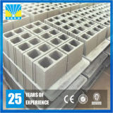 Terminar o tijolo concreto do cimento da pálete equipada com pernas automática que dá forma à máquina
