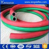 Rouge et Bule/boyau jumeau soudure de vert