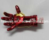 Memoria del USB del disc del USB dell'uomo del ferro