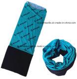 Sciarpa multifunzionale di magia stampata marchio su ordinazione di sport esterni del panno morbido polare del poliestere dei prodotti dell'OEM della fabbrica