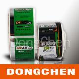 Silberne Folie CER-UL-elektronischer warnender Batterie-Kennsatz