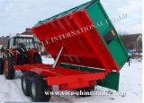 Bauernhof Trailer für Tractor (Side Tipper)