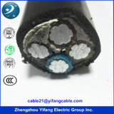 PVC Power Cable de 0.1/1kv Copper para Low Voltage