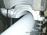 PE Double Wall Corrugated Pipe Extrusion Line di 200-1200mm