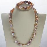 Reeks van de Juwelen van de Parel van de Kwaliteit van de AMERIKAANSE CLUB VAN AUTOMOBILISTEN van de Vorm van Snh de Barokke Goedkope Echte
