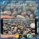 전면 보도 3D는 Samsung S8를 위한 구부려진 강화 유리 전화 스크린 프로텍터를 지운다