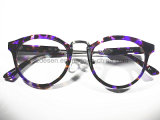 De in het groot Trendy Purpere Marmeren Optische Frames van de Acetaat van het Patroon