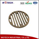 OEMの砂型で作る黄銅か青銅または銅の物質的な下水管の部品