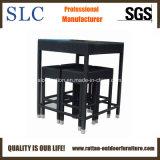 4 mobílias da barra de Seaters/barras ajustadas/tamboretes de barra de vime tabela da barra (SC-A7188)