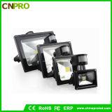 Reflector aprobado del sensor LED de RoHS 10W PIR del Ce