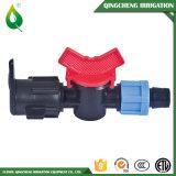 Soupapes en plastique de système d'irrigation mini pour la bande d'égouttement