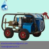 Arruela da pressão e arruela da pressão da gasolina e máquina da limpeza do dreno