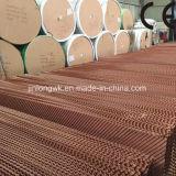 熱い販売のブラウン中国Qingzhouからの緑の黒いカラークーラーのパッド/蒸気化冷却のパッド