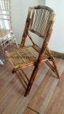 Sale Hotel Banquet Restaurant Wood Bamoo Cadeira de dobrar