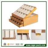 Hölzerner Riemenverbinder-Luxuxablagekasten mit großem Platz