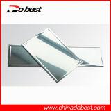 Targa di immatricolazione in bianco di alluminio dell'automobile