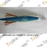 중국에 있는 다채로운 오징어 지그 낚시질