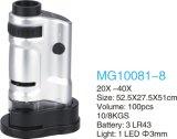 Microscopio Pocket con la lámpara del LED (magnesio 10081-8)