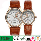 Movimento Quartz do Japão OEM Couple Watch como Gift