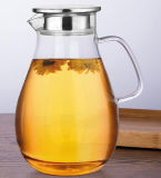Resistência ao calor Glass Water Pitcher Coffee Jug Container Dining Garrafa