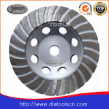 Roue de cuvette de Turbo de diamant d'Od115mm