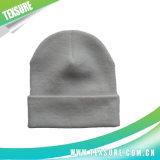 Сплошной цвет подгонял Unisex реверзибельным шлем связанный Beanie (038)