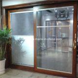 フレンチドアのためのガラス間のMotorzied Ventianの開放されたブラインドか引き戸か押し