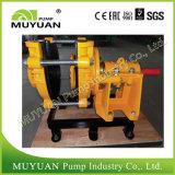 Pompe centrifuge lourde de boue de procédé minéral de débit de moulin
